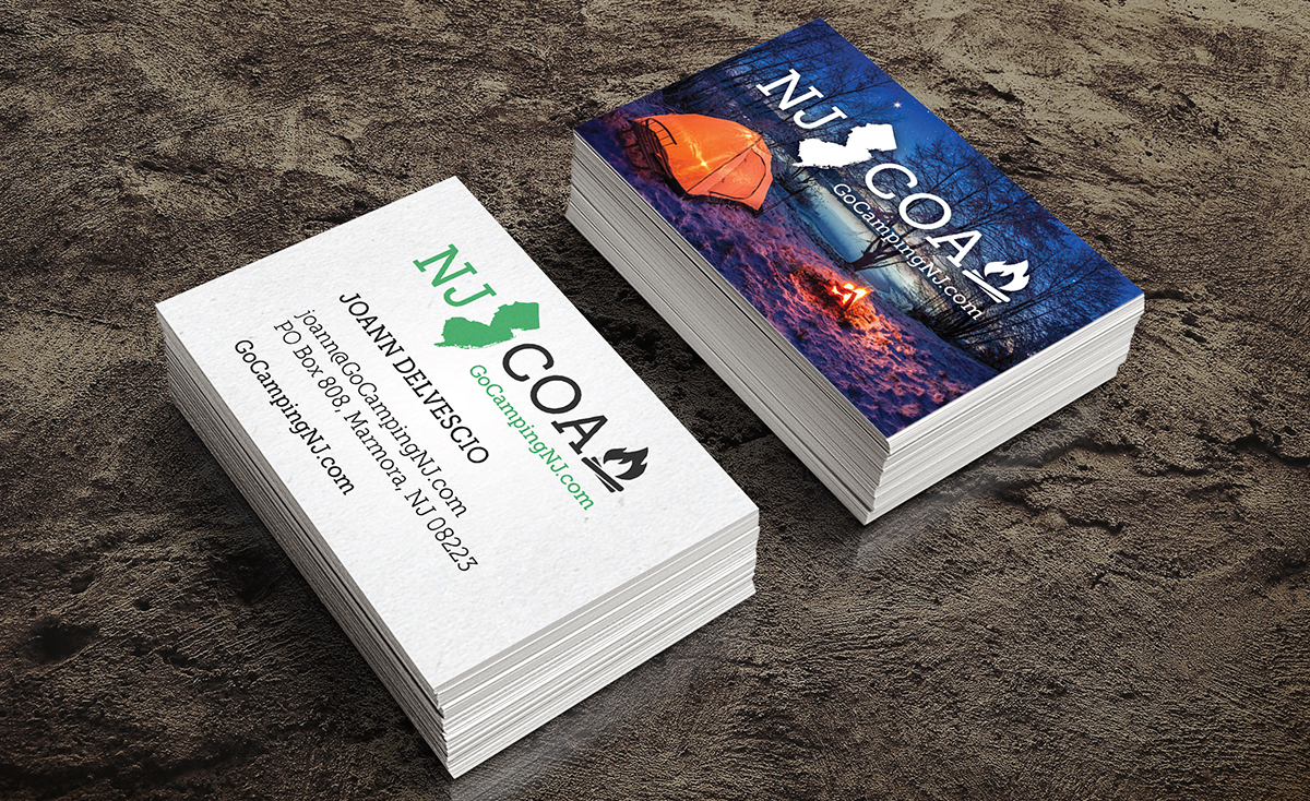 NJCOA Business Card design