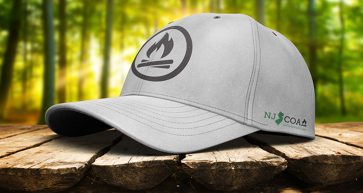 NJCOA baseball hat design